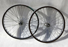 NOS Araya 7X Rims and Suzue Sealed Hubs - 20 x 1.75 - Chrome - Old School BMX
