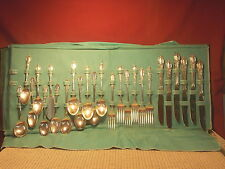 Vintage Oneida Wm. Rogers Silverplate Parklane/Chatelaine 25 Pieces