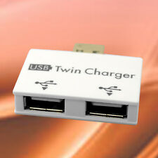 USB to 2 Port Splitter Charger Hub for Smart Phone