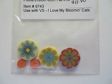 """JABC button pack for Val's Stuff design """"I Love My Bloomin' Cats"""""""