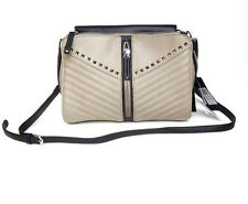 handbags borsa tracolla LIU-JO  M SAETTA eco pelle elephant skin/nero