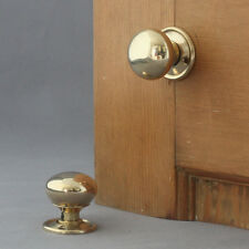 Brass Victorian/Georgian Style Cottage Door Knobs
