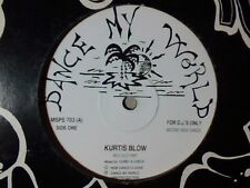 "KURTIS BLOW 80's old rap 12"" CANADA"