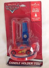 Disney Cars 2 Movie Blue Clock Tower Candle 1ct Cake Decoration Topper #P