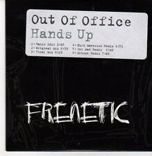 (CG238) Out Of Office, Hands Up - 2007 DJ CD