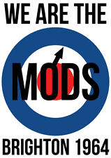 "NEW We are the MODS  34""x24""  POSTER"