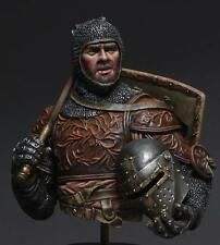 MJ Miniatures Italian Knight with Mace 14thC 1/10th Bust Unpainted kit