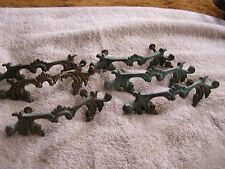Vintage Antique Set 6 Drawer Handle Handles Pull Pulls