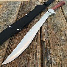 "21"" FULL TANG RAMBO SWORD MACHETE TACTICAL SURVIVAL HUNTING FIXED BLADE KNIFE"