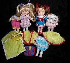 Vintage 1986 Playskool Sweetie Pops Dolls Kneeling Doll 80s Retro Holly
