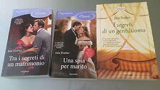 JANE FEATHER--TRA I SEGRETI DI UN MATRIMONIO+UNA SPIA PER MARITO+I SEGRETI DI UN