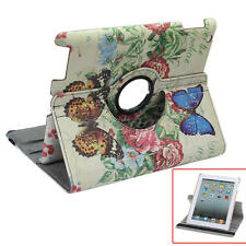 360 Rotating PU Leather Case Butterfly Smart Stand Cover for Apple iPad 2 3 4