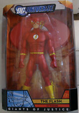 "Flash Retro classic Justice 12"" action figure Mattel Barry Allen DC Universe MIB"