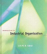 Introduction to Industrial Organization by Luís M. B. Cabral (2000, Hardcover)