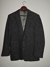 MEN'S 40R HARRIS TWEED HEBRIDES WOOL Blazer,SportCoat