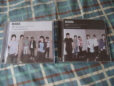 EXO OFFICIAL MAMA CD CHINA PRESS K+M VERSION chanyeol sehun kai xiumin chen