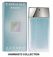 CHROME SPORT BY LORIS AZZARO COLOGNE MEN 3.4 OZ / 100 ML EDT SPRAY (NIB) SEALED