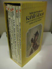 Selected Works of Kahlil Gibran Inspired Visions of Love, Longing and Peace Lot