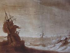C. LORRAIN, STÜRMISCHE SEE MIT SCHIFFEN, BRISK GALE, EARLOM, MEZZOTINTO 74, 1777