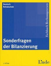 SONDERFRAGEN DER BILANZIERUNG Fachbuch Rechnungswesen Linde 2010