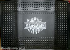 harley davidson shield mat welcome shop garage cargo suv floor home 24x34 (BIG)