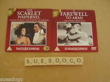 SCARLET PIMPERNEL A.ANDREWS & FAREWELL TO ARMS GARY COOPER - 2 PROMO DVDS