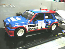 Renault 5 Maxi Turbo rally TDF Tour france 1985 Ragnotti #1 solido rare 1:18