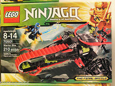 LEGO Ninjago 70501 Warrior Bike, New and Factory Sealed