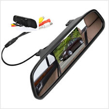 4.3 Color LCD Mirror Auto Parking Display Monitor For Rear View Reverse Camera