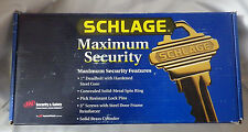 Schlage Maximum Security Door Entry Handset Outside Brass NIB New