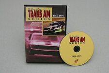 The History of the Trans Am Series 1966-1995 DVD / SCCA Trans-Am Racing