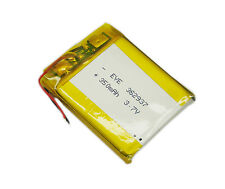 3.7v 350mAh 362937 Li-polymer Rechargeable Baterry for MP3 MP4 GPS PSP Reader