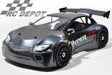 HOBAO Hyper GT Touring Car 1/8 HYPER GT ON-ROAD NITRO RTR (SHORT) - GREY BODY US