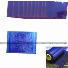 10PCS Photoresist Dry Film + Resist Remover +Developer + For PCB Photo Etched PE