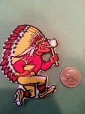 "Kansas City Chiefs KC CLASSIC vintage embroidered iron on patch 3.5"" x 2.5"" SALE"