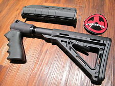 Mesa Tactical & Magpul Kit Pardner Pump Black Pistol Grip 6 Position Stock Grip