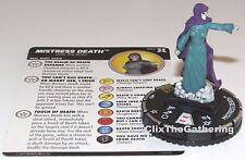 MISTRESS DEATH 052 Deadpool and X-Force Marvel HeroClix Super Rare