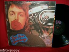 PAUL McCARTNEY & WINGS Red Rose Speedway (THE BEATLES) LP 1973 AUSTRALIA EX