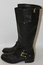 DOLCE VITA LASSO BLACK LEATHER RIDING TALL BOOTS     SZ 6.5      MSRP$99    NEW!