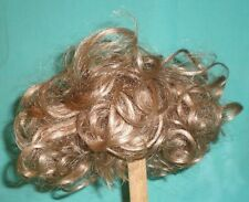 """doll wig/ human hair 11"""" to 12"""" blond, curls"""