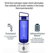 Ionpolis H+ Portable Hydrogen Water Maker Bottle & Filter +Additional filter 4EA