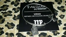 NEW ALEX AND ANI BRACELET ** ZODIAC TAGS VIRGO  ** RETIRED RUSSIAN SILVER