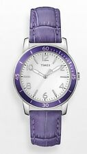 Timex Watch * T2P052 Ameritus Sport Petunia Purple Leather for Women COD PayPal
