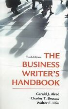The Business Writer's Handbook by Alred Brusa Oliu Tenth Edition 10 ed 10th