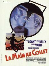 Affiche 120x160cm LA MAIN AU COLLET /TO CATCH A THIEF 1955 Hitchcock - Reedition