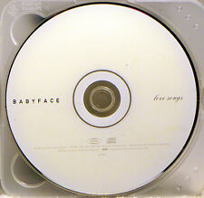 Love Songs [Remaster] by Babyface (CD, Sep-2001, Sony) 16 Songs, 1 Hour, 16 Mins