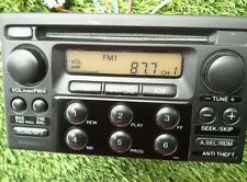 1998-2002 HONDA ACCORD AM/FM RADIO CD PLAYER W/CODE OEM SEE PHOTO