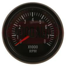MTR1008B12 12 VOLT TACHOMETER DASHBOARD GAUGE REV COUNTER 52mm 0-8000rpm