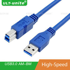 6 Feet USB 3.0 Type A Male to Type B Male High Speed Printer Scanner Cable Cord