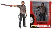 "Walking Dead TV Series Rick Grimes 10"" Vigilante Deluxe Action Figure McFarlane"